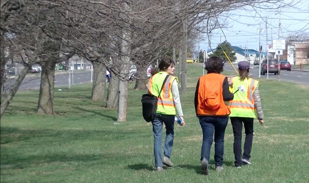 Field work time | Brenda and team conquer the urban field site to set the plan for tree plantings.